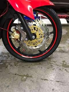 Motorcycle Rim Reflective Decal (RED)