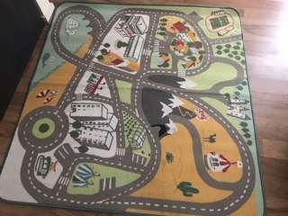 IKEA large rug