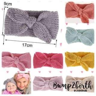 Newborn Headband knitted
