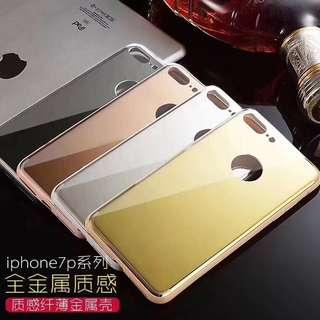 Anti shock cover mirror back shockproof case