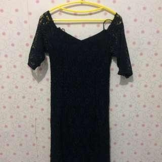 Fancy Lace Dress Sabrina