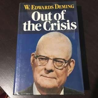 Out of Crisis by W. Edwards Deming
