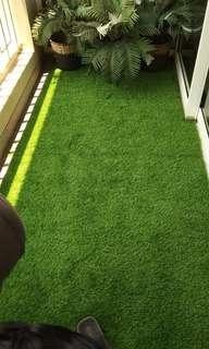 Lantai Pakai Karpet Rumput Sintetis Dekorasi