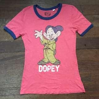 Disney Vintage Ringer Top