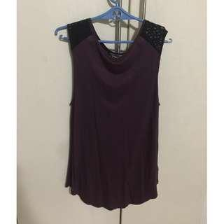 Old Navy Sleeveless Burgundy Top