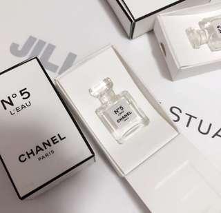 Chanel mini perfume sample 香水版仔