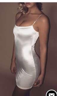 BNWT Meshki Ruby Diamante Strap Mini Dress