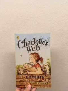charlotte's web story book
