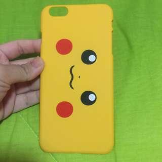 Iphone 6+ Pikachu Yellow Matte Hard Case