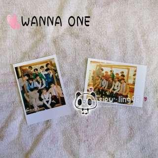 WANNA ONE PHOTO / PHOTOCARD / MERCHANDISE / POLAROID