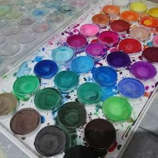 Watercolor Pallette Simbalion