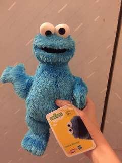 芝麻街公仔 Cookie Monster