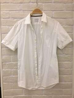 🚚 Esprit 白襯衫純棉有腰身有彈性很新只穿過一次
