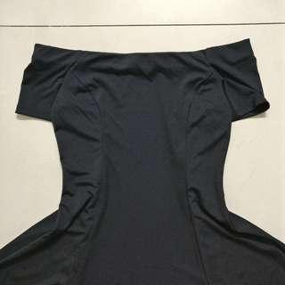 Off-shoulder Little Black Dress