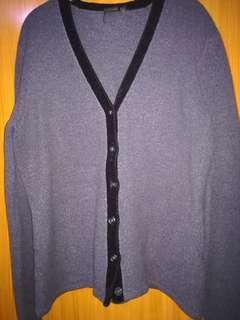 U2 Gray Cardigan