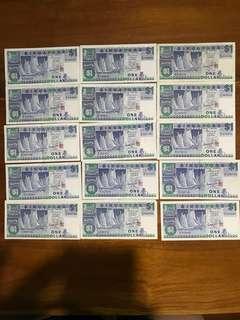 $1 boat series