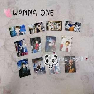 12pcs WANNA ONE PHOTOCARD / LOMOCARD / MERCHANDISE