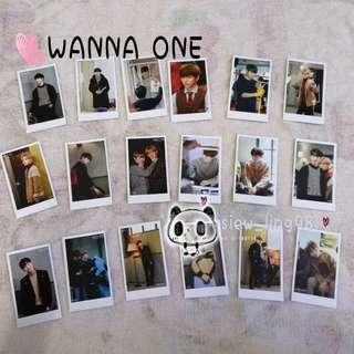37 pcs WANNA ONE PHOTOCARD / LOMOCARD / MERCHANDISE