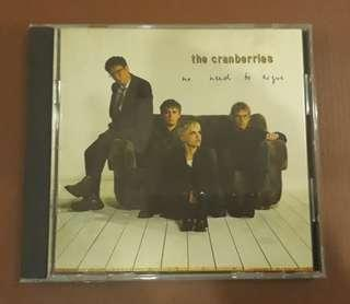 CD The Cranberries - No Need To Argue ( Made in France )