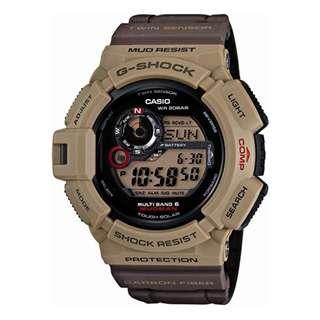CASIO G-SHOCK MUDMAN GW-9300 series GW-9300ER MULTI BAND 6 電波受信機能 TOUGH SOLAR 光動能 GSHOCK GW9300ER