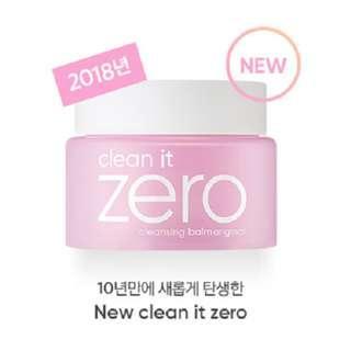 (2018升級版) 韓國正貨 Banila Co. Clean It Zero 零殘留溫和卸妝乳 banilaco 100ml