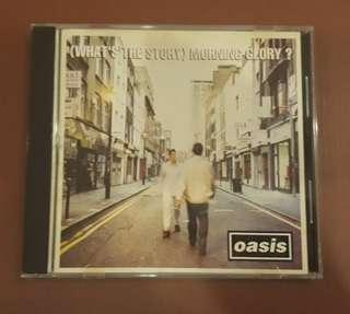 CD Oasis - What's The Story Morning Glory? ( M'sia Press )