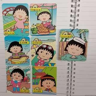 🚚 (徵收)櫻桃小丸子 森永 台灣卡片 小卡