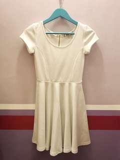 Fit and Flare Dress with back zipper