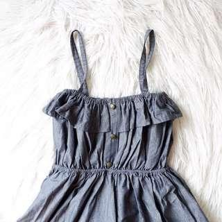 Sofie Black Denim Dress