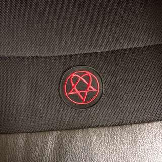 Lovemetal embroidery patches
