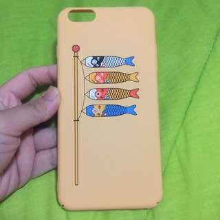 Iphone 6+ Cute Yellow Japanese Style Matte Hard Case