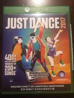xbox one kinect just dance 2017