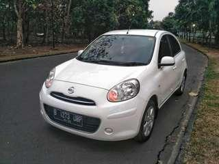 Nissan March 1.2L 2012AT..Putih