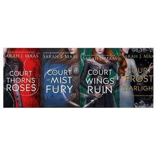 EBOOK: (Book 1-3.1) A Court of Thorns and Roses Series by Sarah J Maas