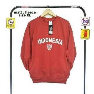 Jaket Fleece Indonesia Size XL