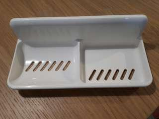 Soap Dish with Suction Pads