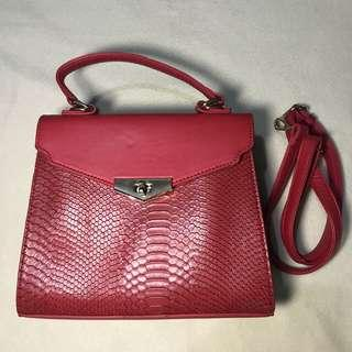 Red Sling/Hand Bag