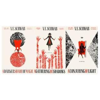 EBOOK: (Book 1-3) Shades of Magic Series by VE Schwab