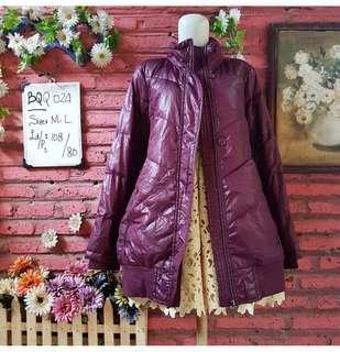 🌸 Purple Parka Coat