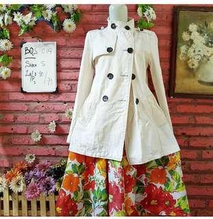 🌸 Broken White Parka Coat