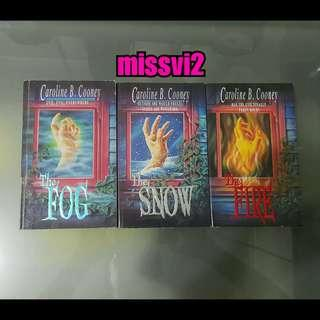 (ENG)Horror Trilogy Set The Fog, The Snow, The Fire By Caroline B.C