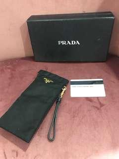 Prada glasses case