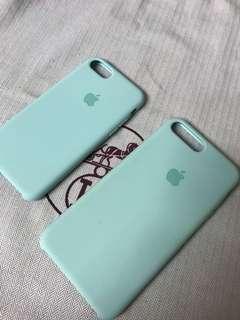 100% Apple Orignial iPhone 7/8 & 7P/8P Silicone Case - Tiffany Green 原裝蘋果機殼Tiffany 綠