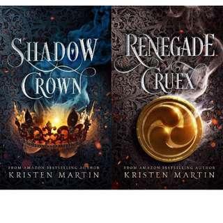 EBOOK: Shadow Crown Series (Book 1 - 2) by Kristen Martin
