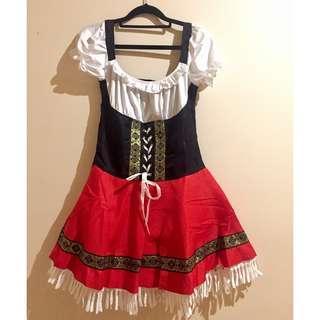 Oktoberfest Beer Maid Costume