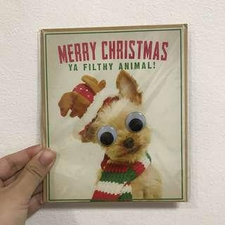 Quirky Christmas cards (assorted)