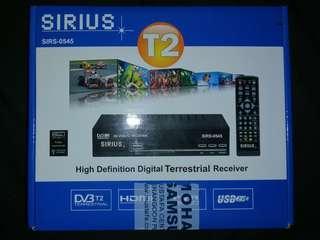 [PRICE REDUCED] SIRIUS HD tv box