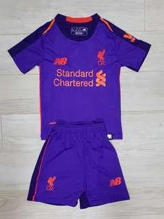 Liverpool away kids jersey 2018/19