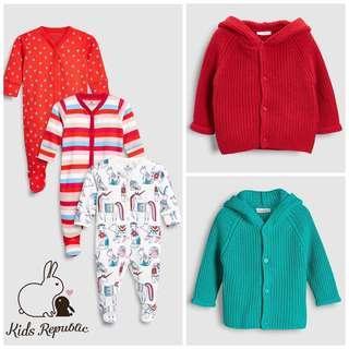 KIDS/ BABY - Sleepsuit/ Cardigan