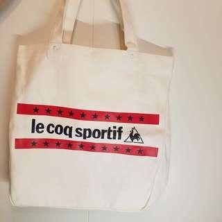 Le coq sportif  tote bag 公雞袋 啪鈕袋